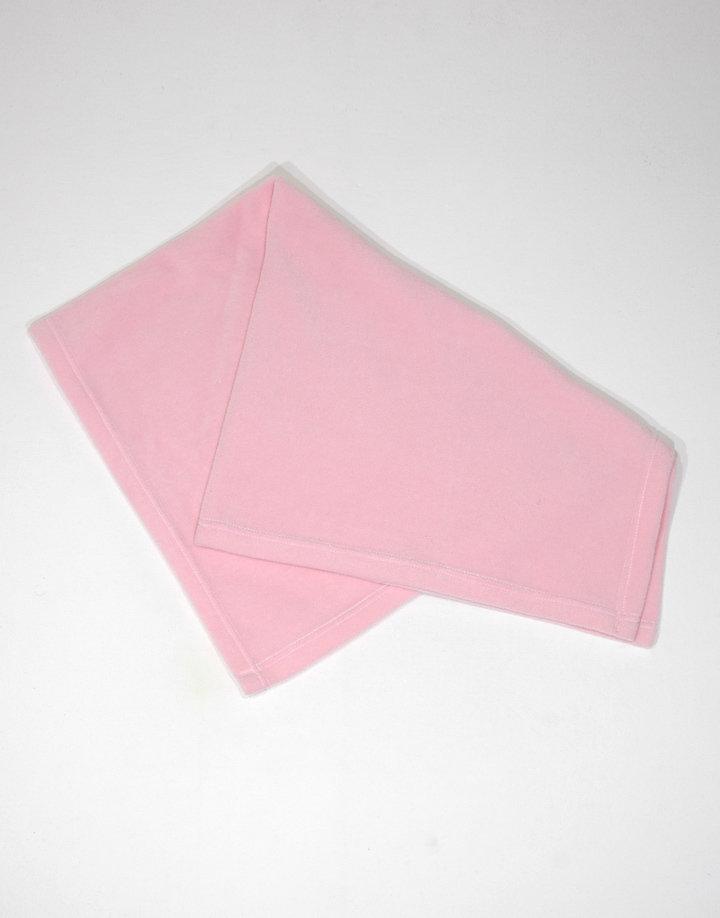 Rózsaszín plüss takaró