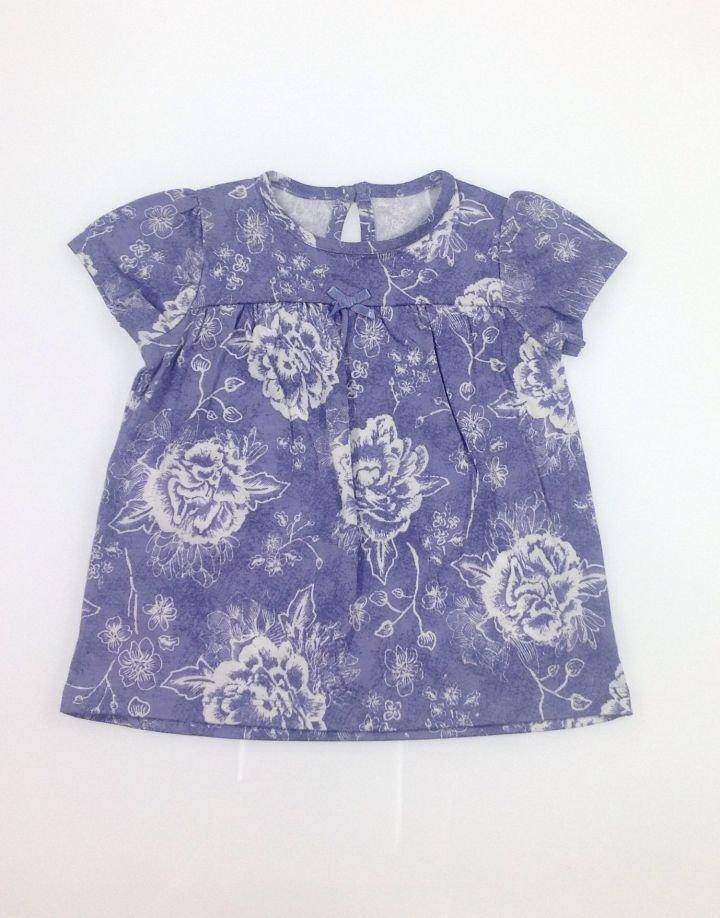 George rózsa mintás baba póló