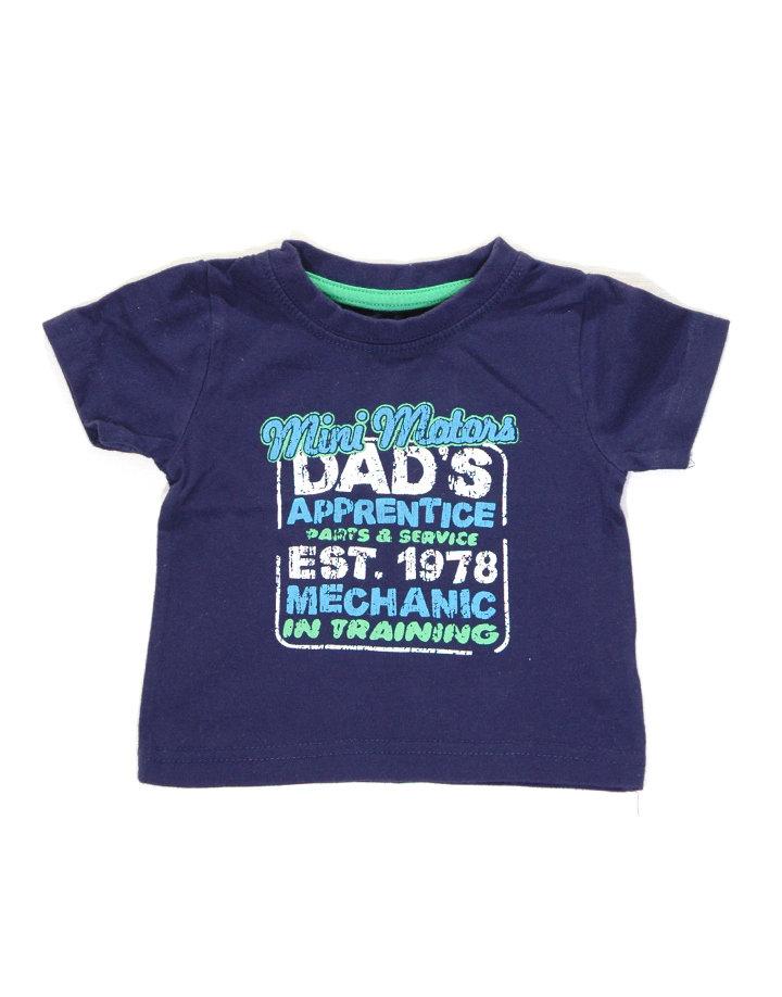 Feliratos kisfiú póló   a872103edd