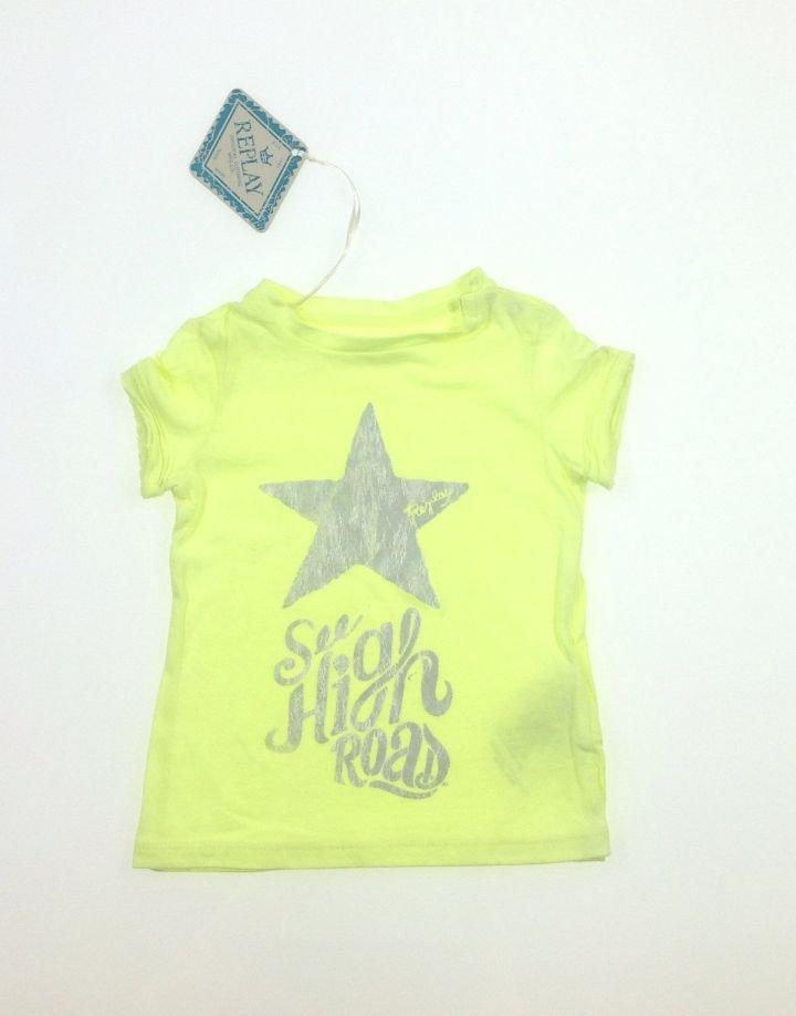 Replay csillag mintás baba póló