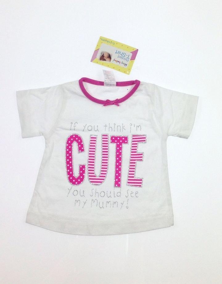 Hey Baby nyomott feliratos baba póló