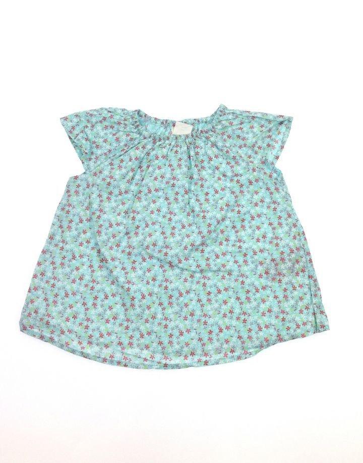 H&M apró virág mintás kislány felső