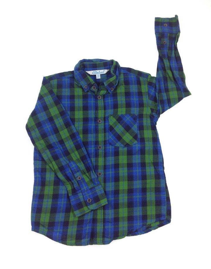 Rebel zöld kockás ing