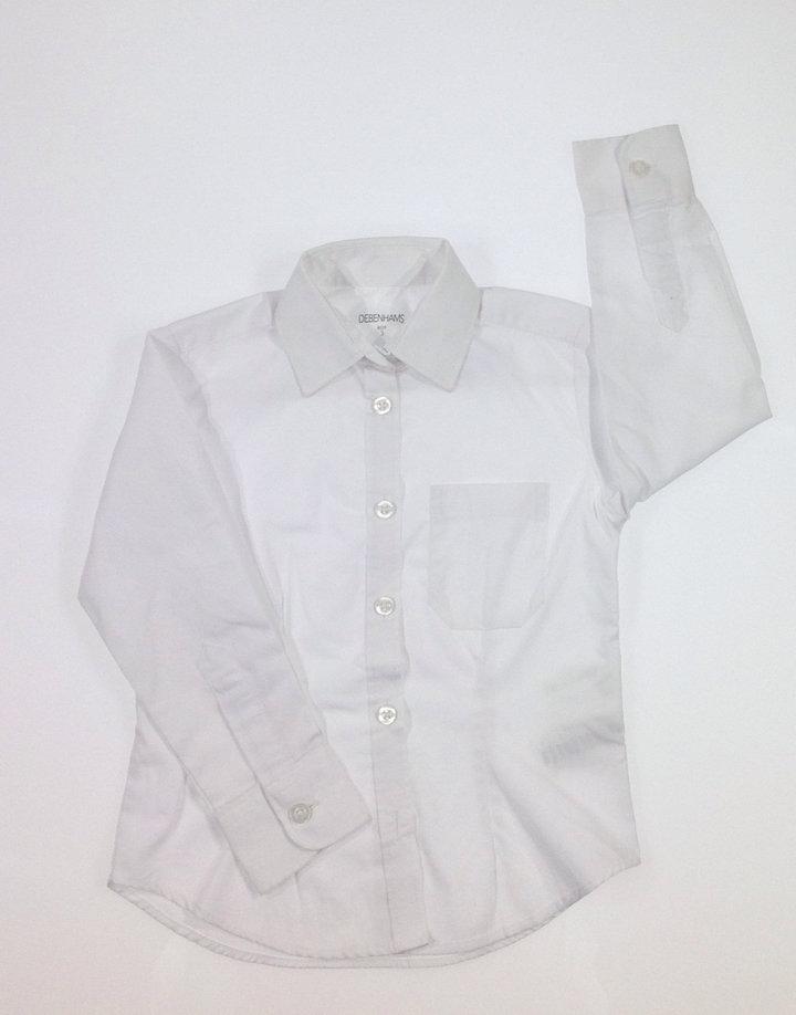 Debenhams fehér kisfiú ing