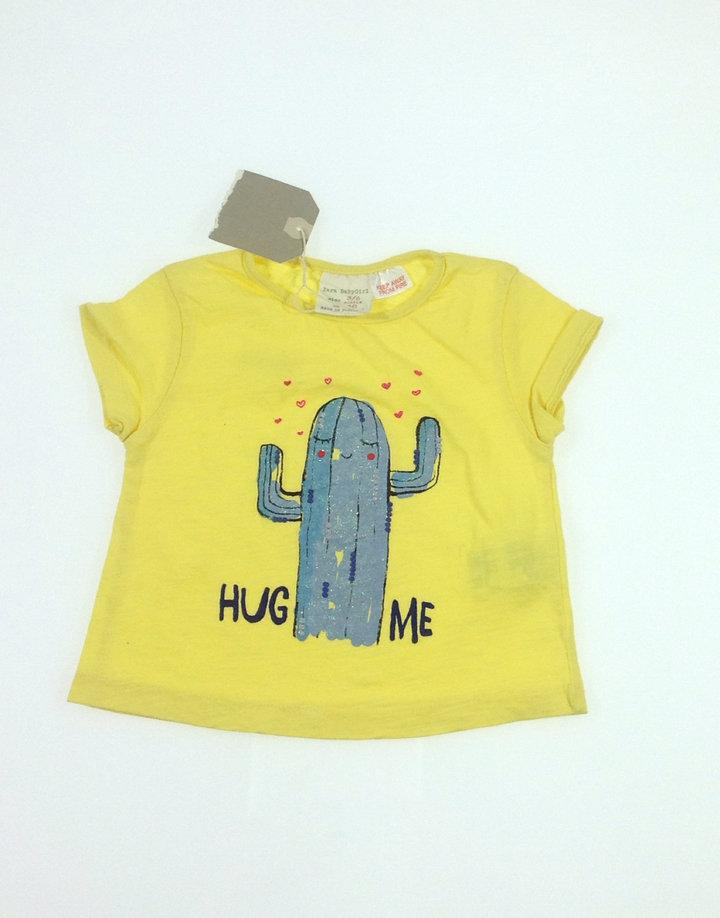 Zara kaktusz mintás baba póló   3c6c273706