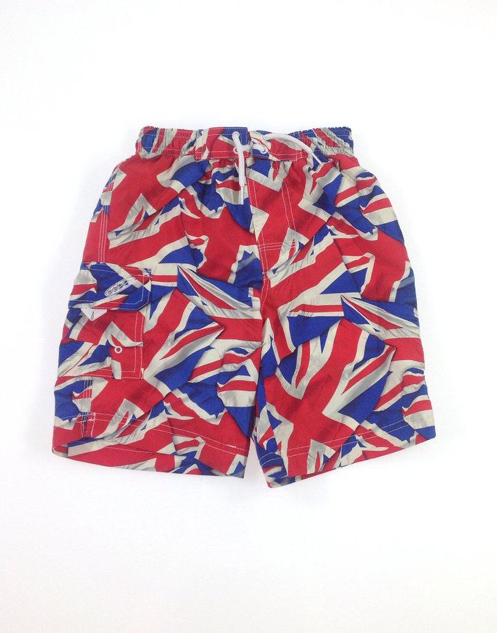 Tu angol zászlós kisfiú fürdőnadrág
