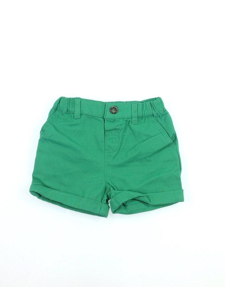 Tu élénk zöld baba rövidnadrág