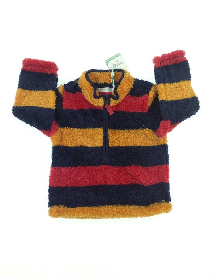 Baby plüss kisfiú pulóver