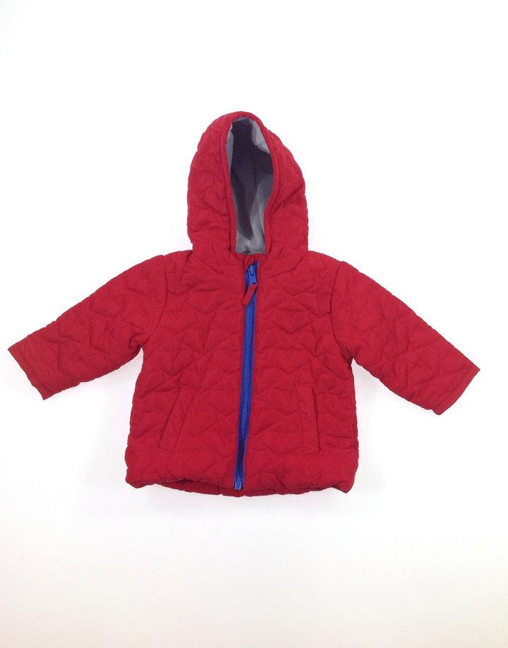 St.Bernard piros baba kabát  212c07c0d9