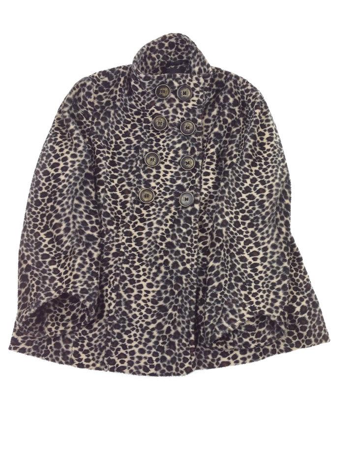 Next párduc mintás kislány kabát