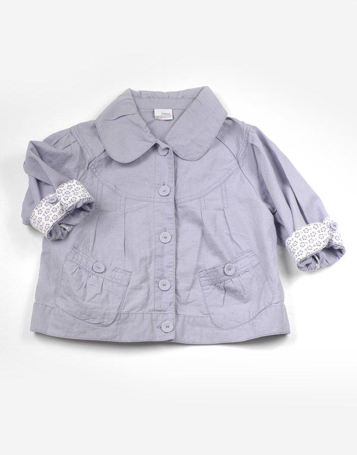 Next lila divatos átmeneti kabát