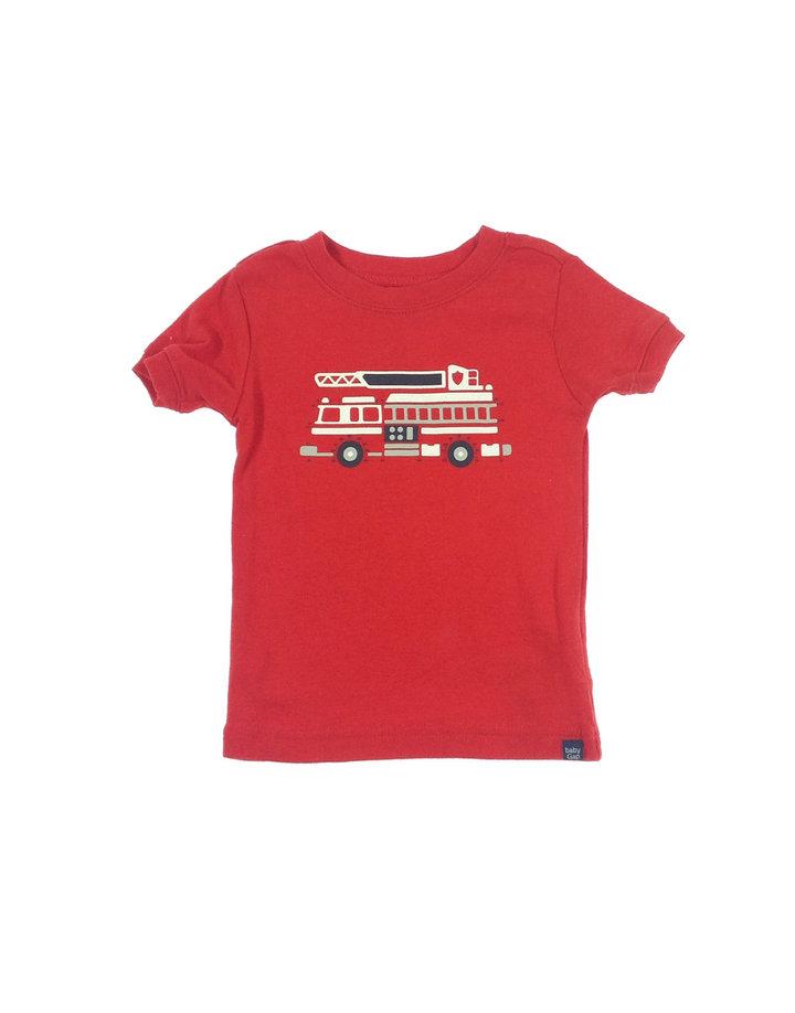 Gap tűzoltó mintás kisfiú póló