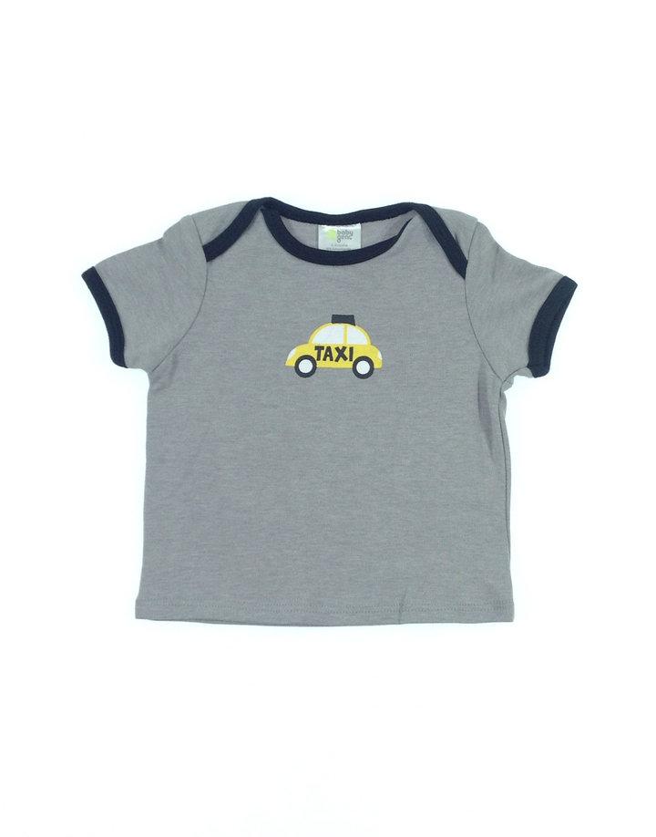 Baby Gear taxi mintás baba póló