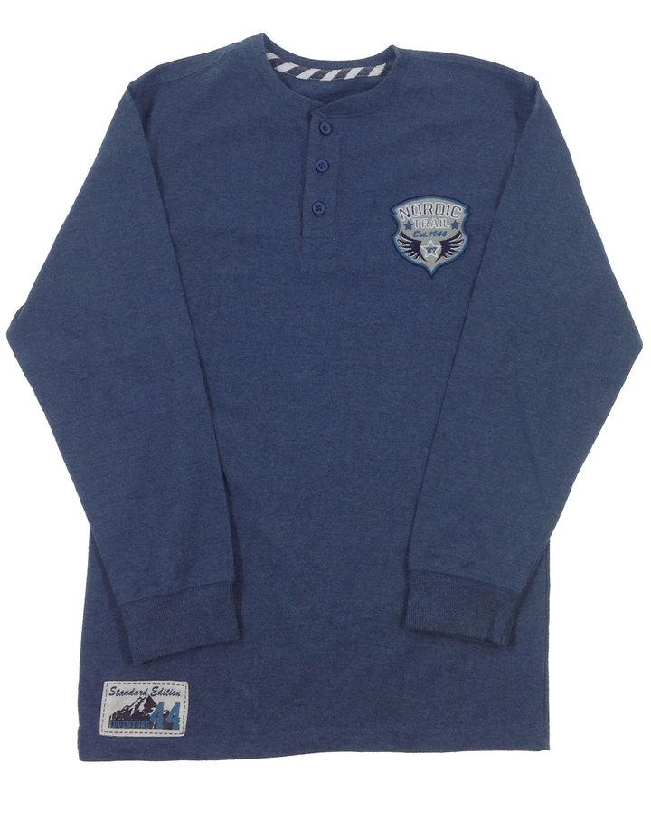 St. Bernard metál kék fiú felső