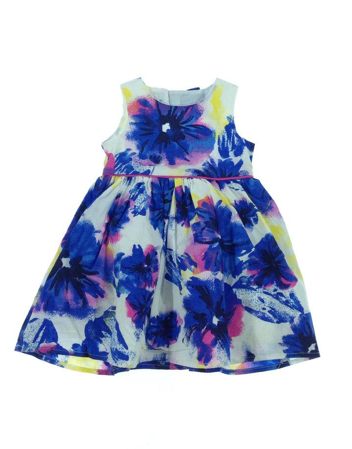 St. Bernard virág mintás baba ruha   9b843d239c