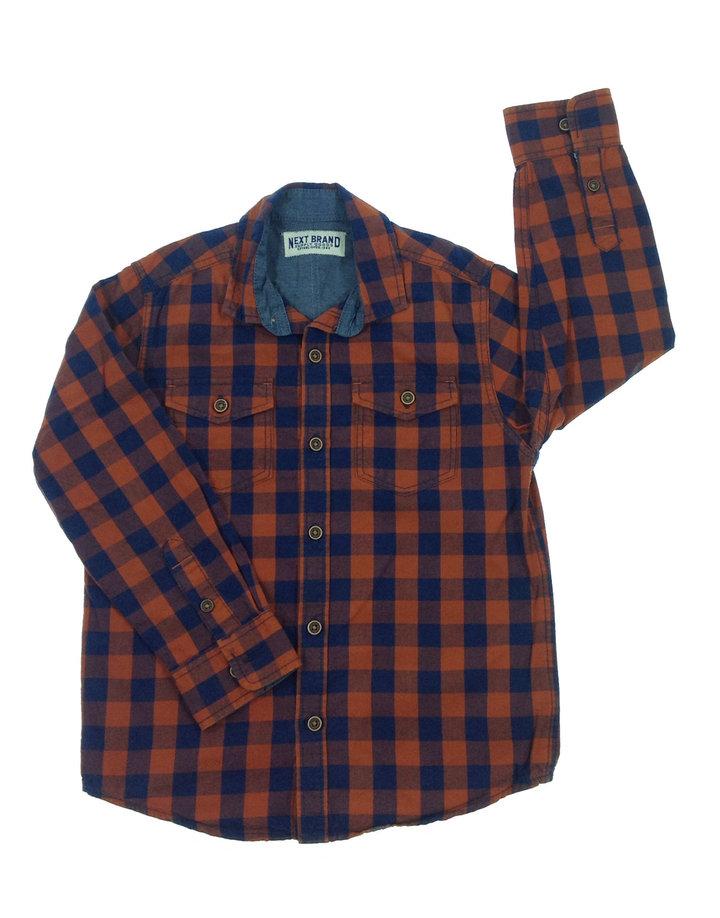 2d84916f32 Next kék kockás fiú ing | Gyerekruha Klub