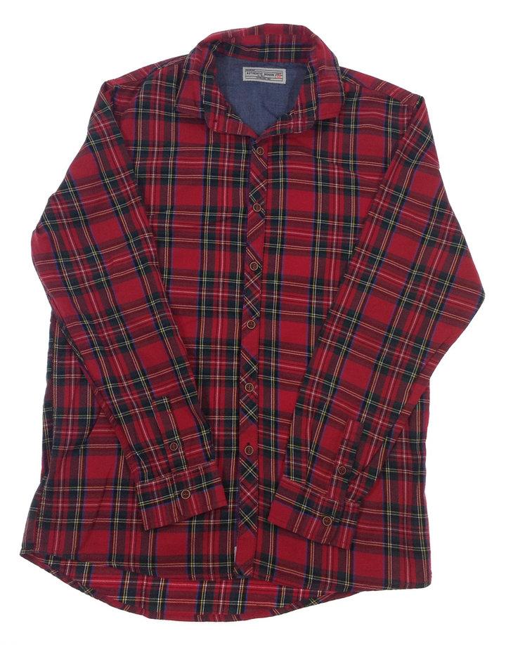 Next piros kockás fiú ing
