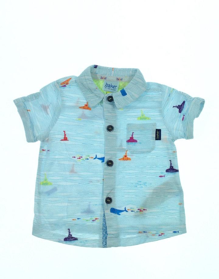 Debenhams tengeralattjáró mintás baba ing