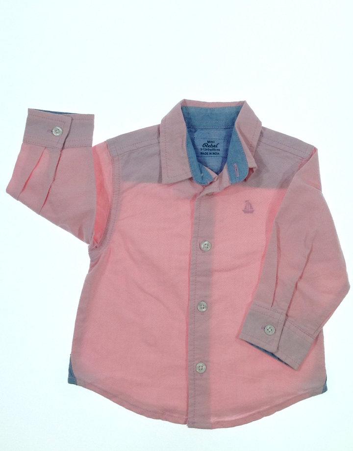 Rebel rózsaszín baba ing