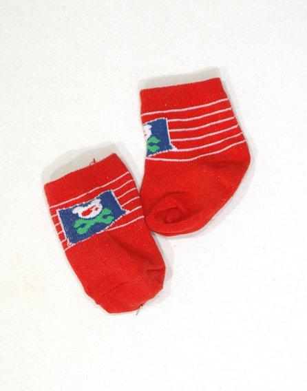 Maci mintás kis zokni