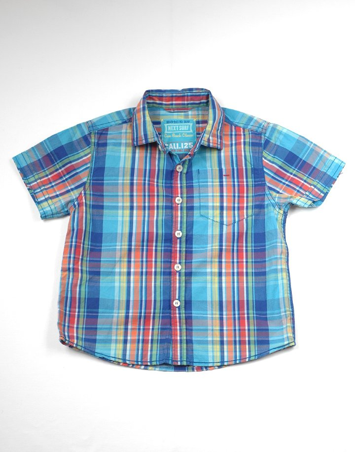 NEXT színes kockás ing