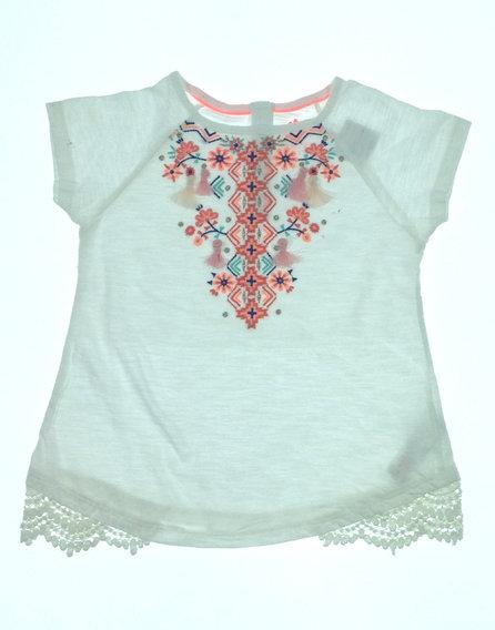 F F hímzett kislány póló  4104187ffc