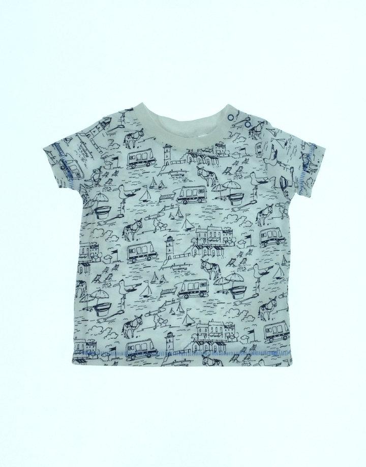 Next nyári mintás baba póló